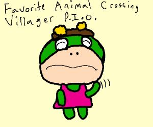 Fav Animal Crossing Villager, PIO !