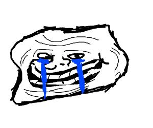 trollface suddenly has regrets