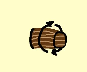 Barrel Roll but real barrel