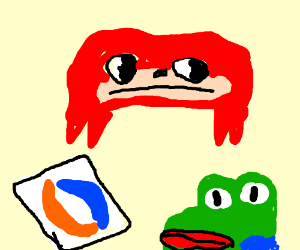 Draw all the ugly memes