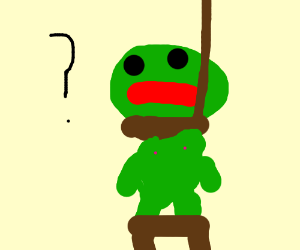 pepe contemplates suicide