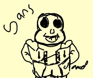 Underfell Sans - Drawception