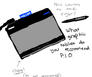 What graphic tablet do you recommend? PIO, plx