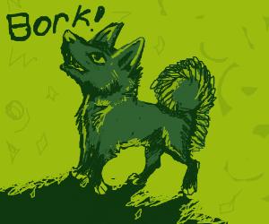 Radioactive dog borks