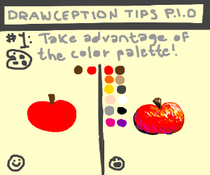 Drawception tips (pio)