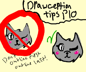 Drawception tips PIO (Don't sketch, just draw!