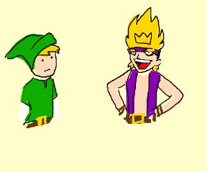 The Legend of Zelda but it's krys instead of z