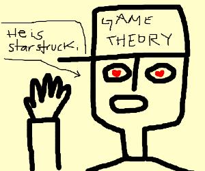 MatPat waving with starstruck eyes