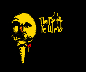 The Godfather title but with Yellmo