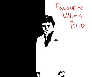 Says: Favorite Villain PIO.  Shows Scar.