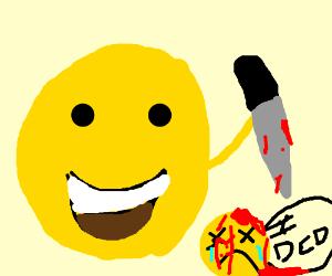 happy emoji wants jail