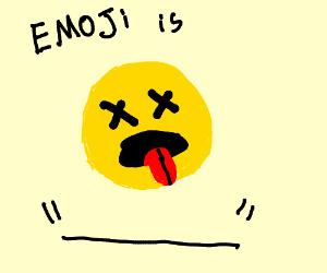 Emoji is DEAD, DEAD, DEAD