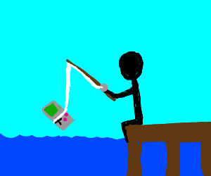 Fishing for gameboy