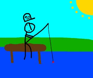 Fishing for 90s children