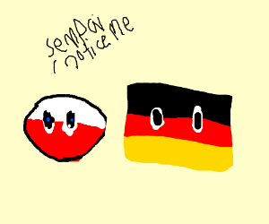 Poland wants to be noticed by Germany senpai
