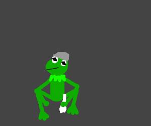 Kermit is slav squating