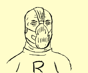 Bane as a member of Team Rocket