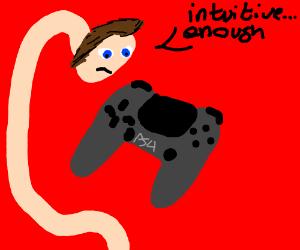 PS4 Controls Intuitive Enuff for Noodle Neck