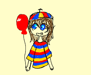 Balloon girl from FNaF