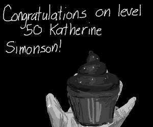 Congrats on Level 50 Katherine Simonson! :P