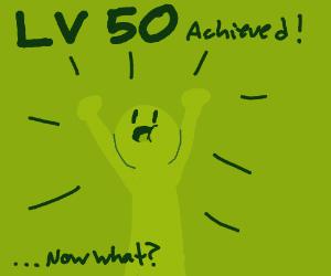 Congrats on LVL 50!