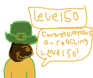 Congrats on level 50!