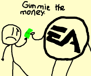 EA stealing 12-year olds Money