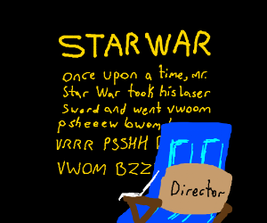 blue door directs star wars beginning scroll