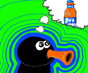 Pingu thinks about beer
