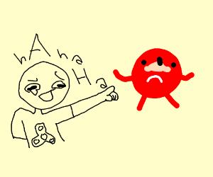 Guy laughing at dead meme