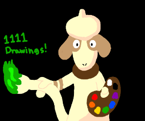 Congrats on 1111 drawings Doodle Squad!