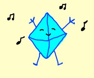 Dancing chrystal