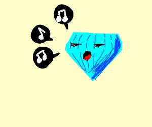 Diamond singing