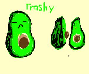 """avocado finds avocado roomates to be """"trashy"""""""