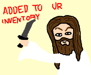 jesus found a knife