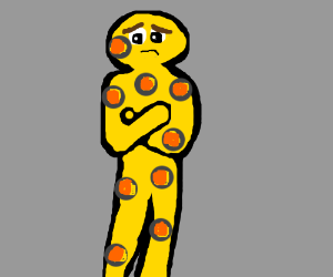 lonely cheese guy