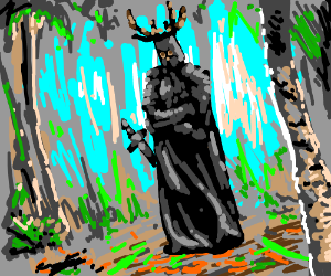 A knight (probably one who says NEE)