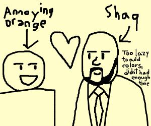 annoying orange x shaq