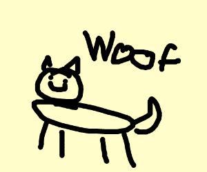 Woof I'm a creature
