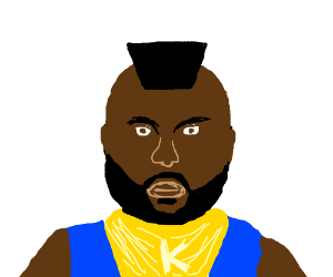 wait. this isn't Mr t. it's a crappy KNOCKOFF!