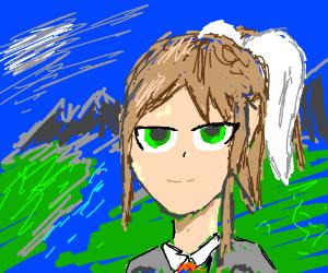 Monika (DDLC) in Classical Art P.I.O.
