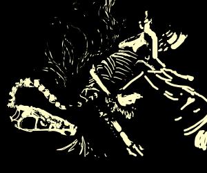 dead stink dinosaur underground