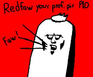 Redfaw your prof. pic PIO