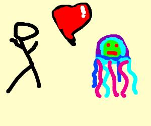Sbsp boss marrying a jellyfish