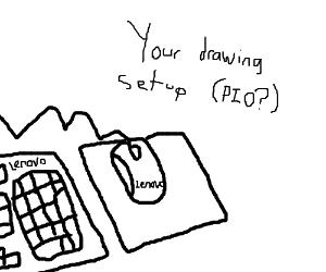 Your drawing setup