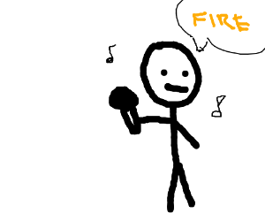 SUGA SINGING FIRE (I'm sorry..xD)
