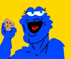 Handsome Cookie Monster