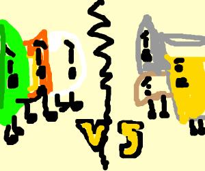Battle for Dream Island vs. Inanimate Insanity