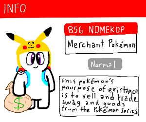 New Pokemon Pokedex Entry