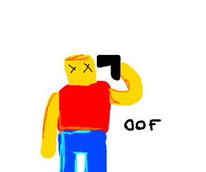 Roblox Man Shoots Himself Roblox Death Sound Drawing By Yeahboi